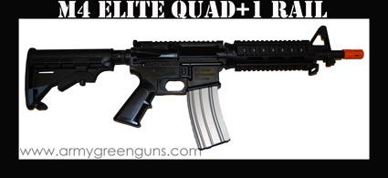 M4 Elite Quad + 1 Rail